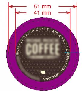 2.0 K cups sealing lids